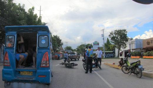 【フィリピン生活】しょっちゅう目にするバイク事故現場